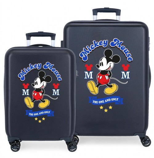 3071924 juego maletas cabina y mediana have a good day mickey