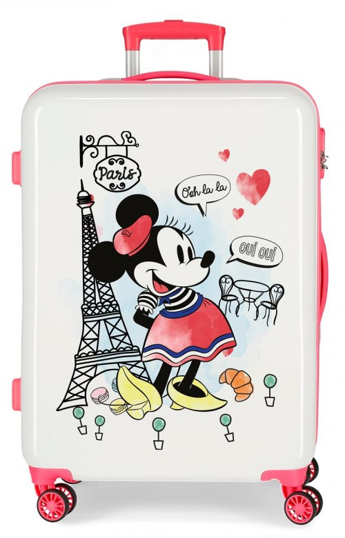 3151824 maleta mediana minnie around the world paris