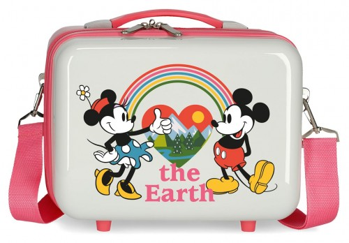 3153926  neceser adaptable a trolley abs  minnie around the world the earth