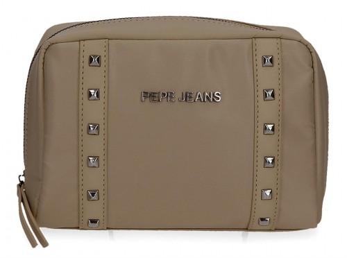 7074523 Neceser 20 cm Pepe Jeans Roxanne Beige
