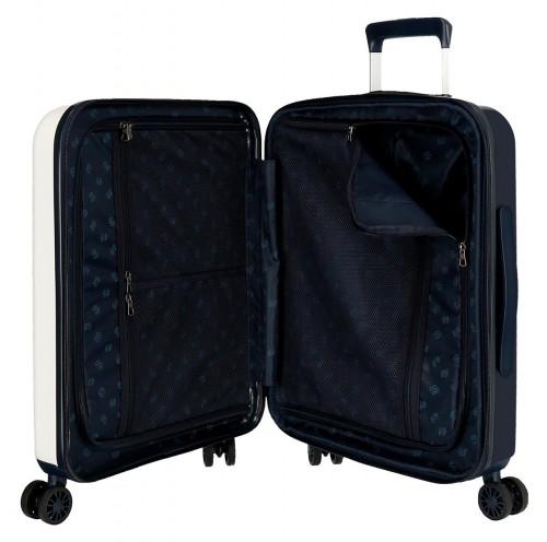 7199361 maleta de cabina pepe jeans leven maze interior