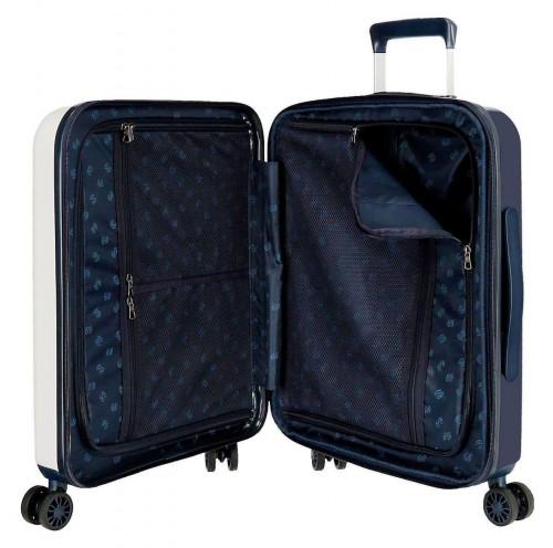 7199366 maleta de cabina pepe jeans leven phoenix interior