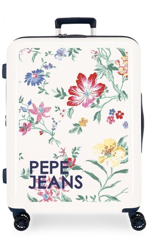 7199461 maleta mediana expandible pepe jeans leven maze