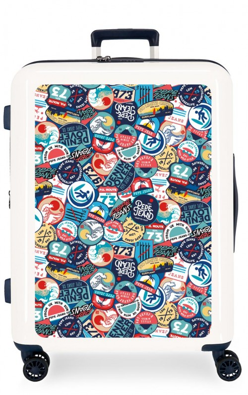 7199466 maleta mediana expandible pepe jeans leven phoenix