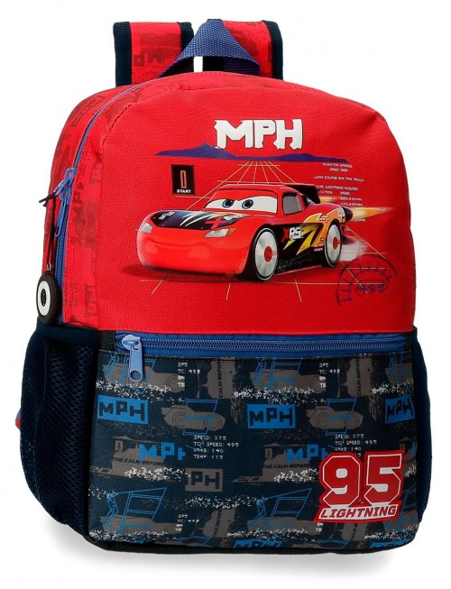 20822D1 mochila 32cm adaptable cars roquet racing