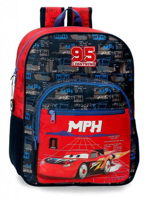 20823D1 mochila mediana 38cm cars roquet racing