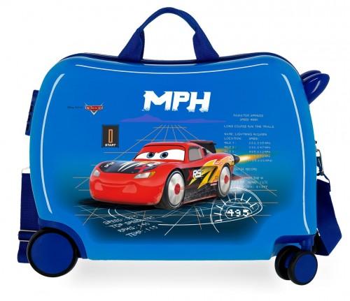 2089821 maleta infantil correpasillos cars rocket racing