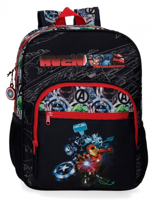 2092321 mochila 38cm adaptable avengers armour up