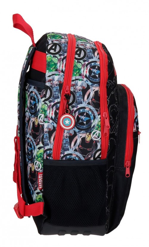 2092621 mochila 44cm reforzada adaptable avengers armour up