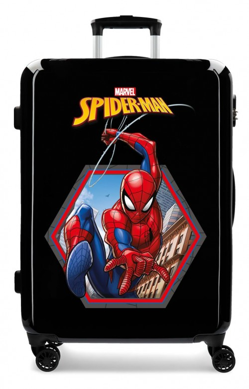 2411865 maleta mediana spiderman geo negro