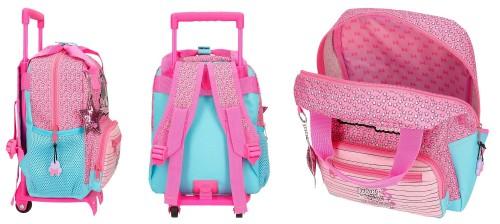 25121N1 mochila 28 cm carro minnie pink vibes