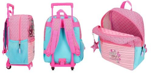 25122N1 mochila 32 cm carro minnie pink vibes