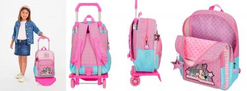 25123N1 mochila 38 cm carro minnie pink vibes