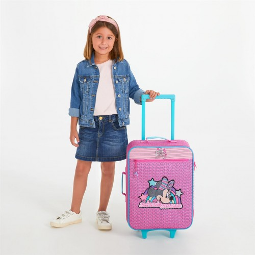 2519061 maleta cabina 2 ruedas minnie pink vibes