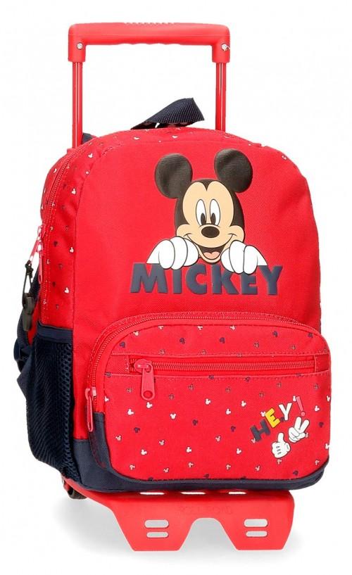 25321N1 mochila 28 cm carro happy mickey