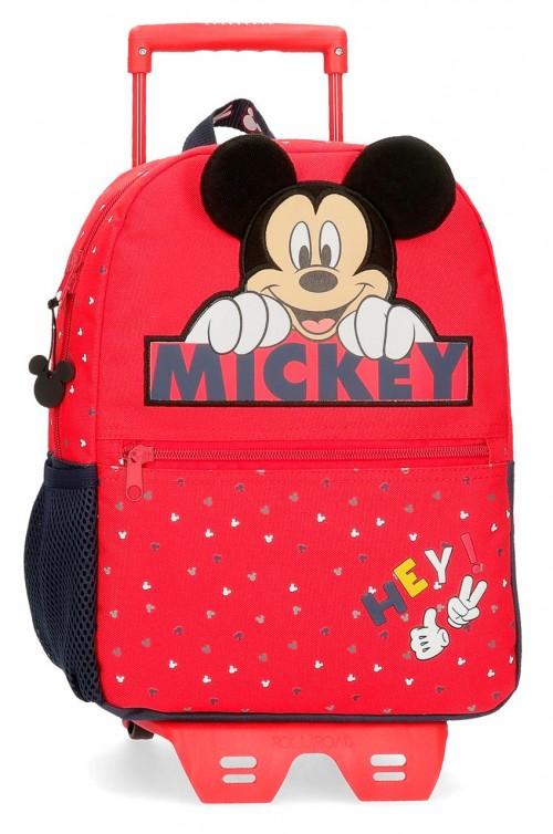 25322N1 mochila 32 cm carro happy mickey