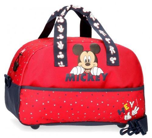 2533261 bolsa de viaje 40 cm happy mickey