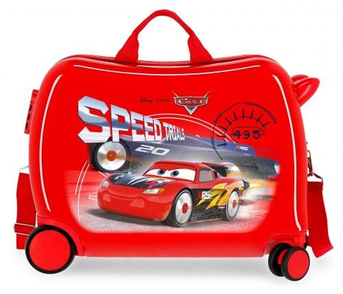 4039821 maleta infantil correpasillos cars speed trials