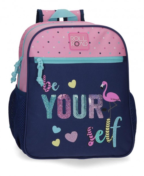 40922d1 Mochila Pequeña 33 cm Roll Road Be Yourself