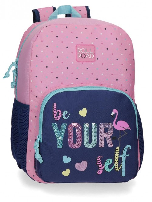 40923D1 mochila grande 40 cm Roll Road Be Yourself