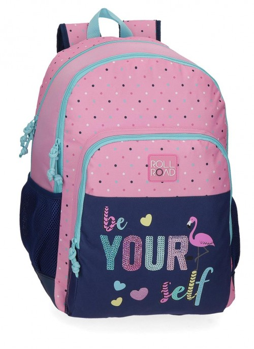 40926D1 mochila 46 m doble c. Roll Road Be Yourself