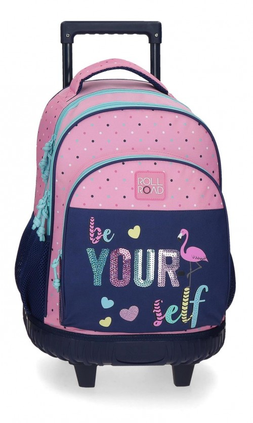 4092921 mochila compact Roll Road Be Yourself