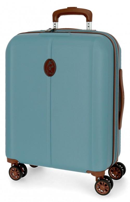 5128722 maleta cabina abs el potro new ocuri azul