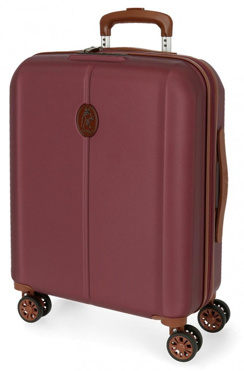 5128724 maleta cabina abs el potro new ocuri rojo