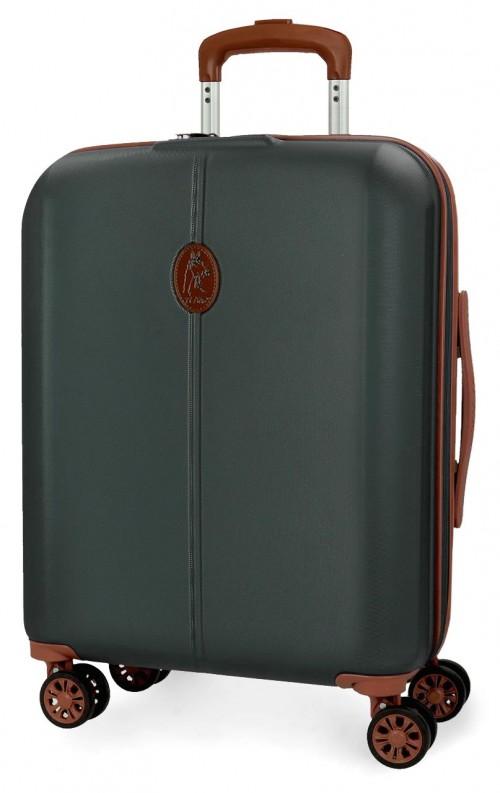5128725 maleta cabina abs el potro new ocuri verde oscuro