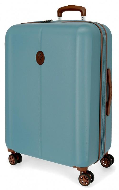 5128822 maleta mediana abs el potro new ocuri azul