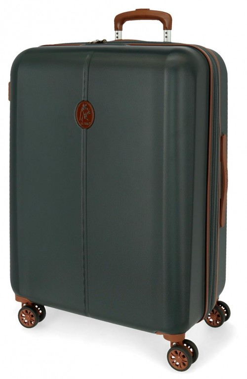 5128825 maleta mediana abs el potro new ocuri  verde oscuro