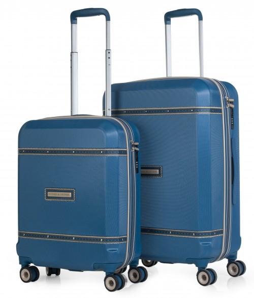 5600002 juego maletas cabina y mediana victorio & lucchino mercurio azul
