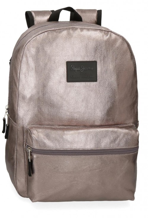 6472362  mochila adaptable 44 cm  Pepe Jeans april bronce