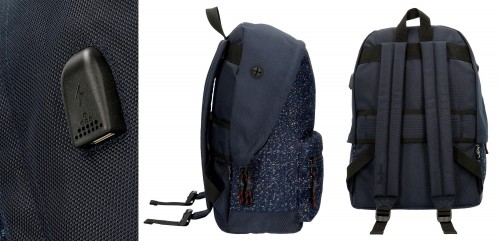 6492362 2 mochila  portaordenador 42 cm pepe jeans hike azul