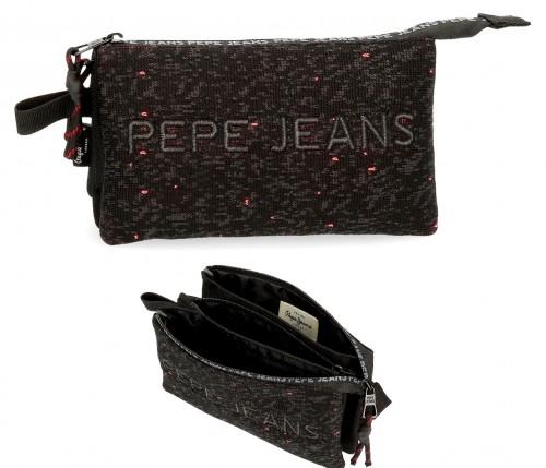 6494361 portatodo triple pepe jeans hike negro