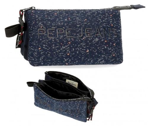 6494362 portatodo triple pepe jeans hike azul