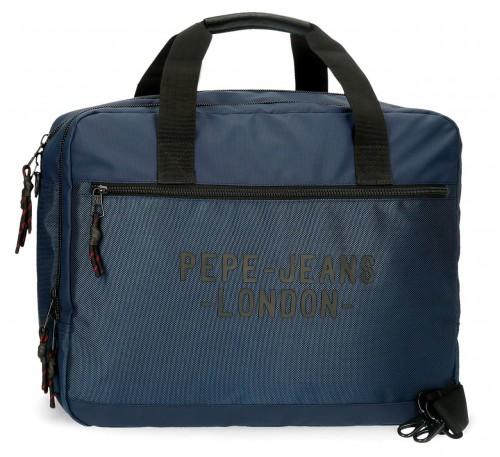 7166623 cartera portaordenador-tablet   pepe jeans bromley en azul