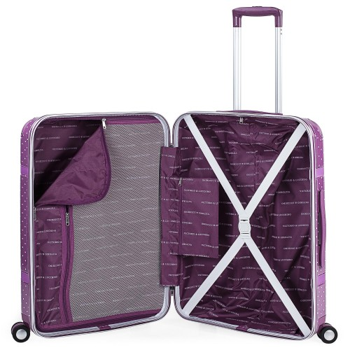 8016008 maleta mediana victorio & lucchino lunares malva interior
