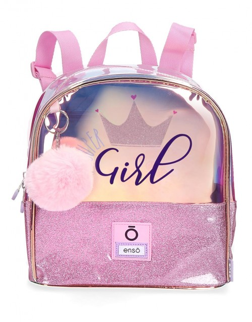9312061 mochila de paseo 24 cm enso super girl