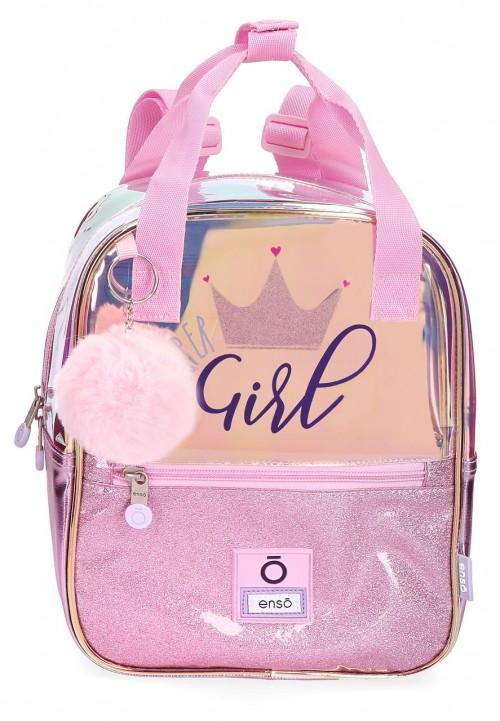 9312161 mochila de paseo 27 cm enso super girl