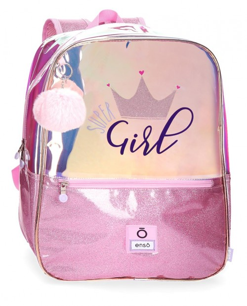 9312361 mochila grande adaptable 43 cm enso super girl