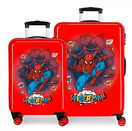 2071921 juego maletas cabina y mediana spiderman pop