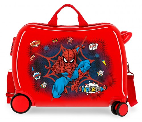 2079821 maleta infantil 4 ruedas spiderman pop
