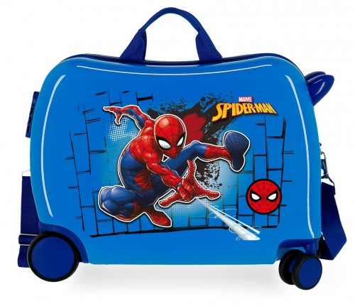 4049821 Maleta Infantil Spiderman Red