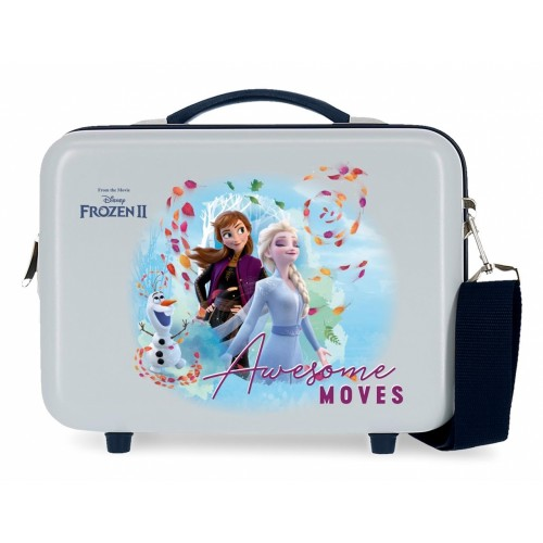 4053921  neceser rígido adaptable con bandolera Awesome Moves frozen 2