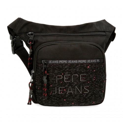 6494961 Riñonera Pepe Jeans Hike Negro