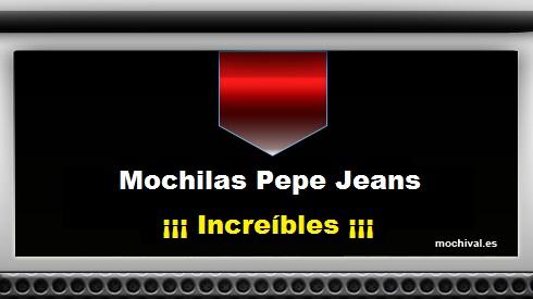 Mochilas Pepe Jeans