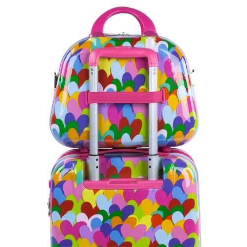 Neceser Agatha Corazones Colores adaptable a trolley