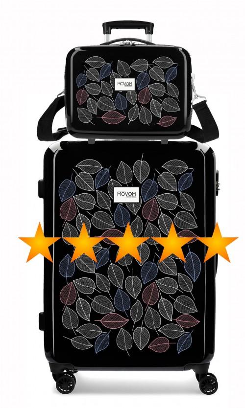 3641861N maleta mediana movom leaves + neceser rígido