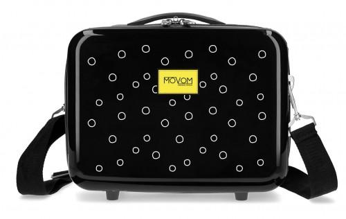 3653962 neceser rigido ABS adaptable movom bubbles amarillo
